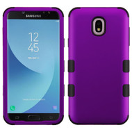 Military Grade Certified TUFF Hybrid Armor Case for Samsung Galaxy J7 (2018) / J7 Refine / J7 V (2nd Gen) - Purple