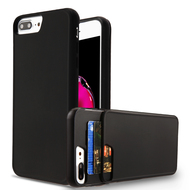 Under Cover Card Slot Case for iPhone 8 Plus / 7 Plus - Black