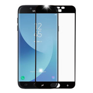 Premium Full Coverage 2.5D Tempered Glass Screen Protector for Samsung Galaxy J7 (2018) / J7 Refine - Black