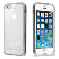 Ultra Hybrid Shock Absorbent Crystal Case for iPhone SE / 5S / 5 - Clear