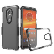 Transparent Protective Bumper Case for Motorola Moto E5 Plus - Black