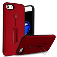 *Sale* Finger Loop Case with Kickstand for  iPhone 8  / 7 - Red