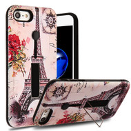 Finger Loop Case with Kickstand for  iPhone 8  / 7 - Paris Memory
