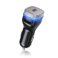 Mybat Universal Dual USB Vehicle Car Charger 3.1A - Black Grey