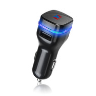 Mybat Universal Dual USB Vehicle Car Charger 3.1A - Black 15A