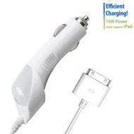 Mybat MFi 2100mA 30-Pin Car Charger - White
