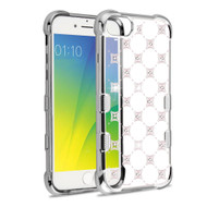 TUFF Klarity Electroplating Transparent Anti-Shock TPU Diamond Case for iPhone 8 / 7 / 6S / 6 - Cosmo Sparks