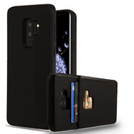 Under Cover Card Slot Case for Samsung Galaxy S9 Plus - Black