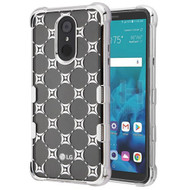 TUFF Klarity Electroplating Transparent Anti-Shock TPU Diamond Case for LG Stylo 4 - Cosmo Sparks