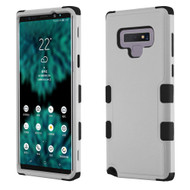 Military Grade Certified TUFF Hybrid Armor Case for Samsung Galaxy Note 9 - Grey