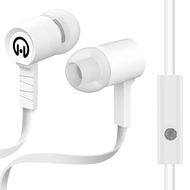HyperGear Low Ryder Earphones with Mic - White