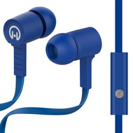 HyperGear Low Ryder Earphones with Mic - Blue