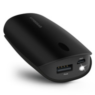 HyperGear Pocket Boost 5200mAh Portable Power Bank Battery - Black