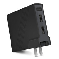 Naztech SOLO 5200mAh Portable Power Bank Battery + Wall Charger - Black