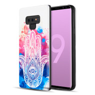 Art Pop Series 3D Embossed Printing Hybrid Case for Samsung Galaxy Note 9 - Mandala