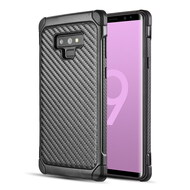Tough Anti-Shock Hybrid Case for Samsung Galaxy Note 9 - Carbon Fiber
