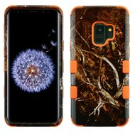 Military Grade Certified TUFF Image Hybrid Armor Case for Samsung Galaxy S9 - Tree Camouflage 011