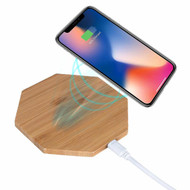 Bamboo Wireless Charger Qi Charging Pad