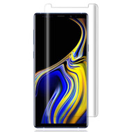 3D Curved Full Coverage Tempered Glass Screen Protector for Samsung Galaxy Note 9 - Clear