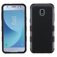 Military Grade Certified TUFF Image Hybrid Armor Case for Samsung Galaxy J3 (2018) - Carbon Fiber