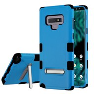 Military Grade Certified TUFF Hybrid Armor Case with Stand for Samsung Galaxy Note 9 - Blue