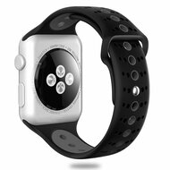 Sport Band Watch Strap for Apple Watch 44mm / 42mm - Black Grey