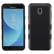 Military Grade Certified TUFF Image Hybrid Armor Case for Samsung Galaxy J7 (2018) - Carbon Fiber