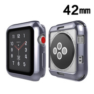 Electroplating Bumper Case for Apple Watch 42mm - Gunmetal