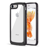 Tough Shield Snap-on Transparent Case for iPhone 8 / 7 - Black