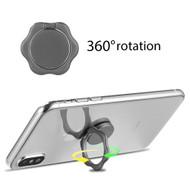 Smart Loop Universal Smartphone Holder & Stand - Hex Flower Black