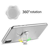 Smart Loop Universal Smartphone Holder & Stand - Hex Flower Silver