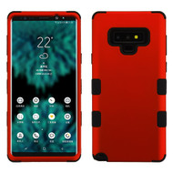 Military Grade Certified TUFF Hybrid Armor Case for Samsung Galaxy Note 9 - Red 006