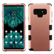 Military Grade Certified TUFF Hybrid Armor Case for Samsung Galaxy Note 9 - Rose Gold 059