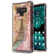 Tuff Lite Quicksand Case for Samsung Galaxy Note 9 - Eiffel Tower