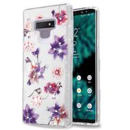 Tuff Full Glitter Diamond Hybrid Protective Case for Samsung Galaxy Note 9 - Purple Stargazers