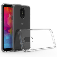 Ultra Hybrid Shock Absorbent Crystal Case for LG Q7 Plus - Clear