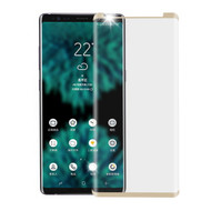 3D Curved Full Coverage HD Tempered Glass Screen Protector for Samsung Galaxy Note 9 - Gold