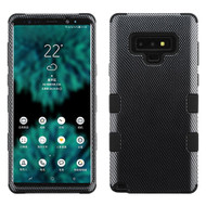 Military Grade Certified TUFF Image Hybrid Armor Case for Samsung Galaxy Note 9 - Carbon Fiber