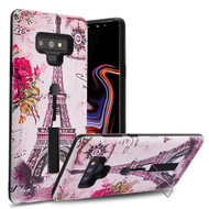 Finger Loop Case with Kickstand for Samsung Galaxy Note 9 - Paris Memory