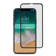 Premium Full Coverage Tempered Glass Screen Protector for iPhone 11 Pro Max / iPhone XS Max - Black