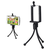 Mini Tripod Phone Stand - Black