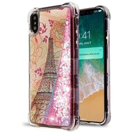 Tuff Lite Quicksand Case for iPhone XS Max - Eiffel Tower