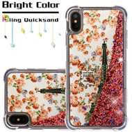 Tuff Lite Quicksand Case for iPhone XS Max - Paris in Full Bloom