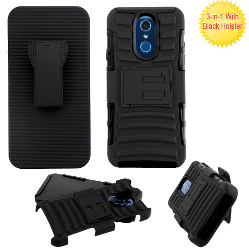 Advanced Armor Hybrid Kickstand Case With Holster For Lg
