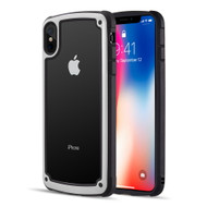 Tough Shield Snap-on Transparent Case for iPhone XS Max - White