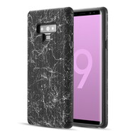 *Sale* Splash Ink Tactile Surface Hybrid Armor Case for Samsung Galaxy Note 9 - Black