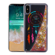 Quicksand Glitter Transparent Case for iPhone XS Max - Dreamcatcher
