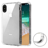 Air Sacs Transparent Anti-Shock TPU Case for iPhone XS Max - Clear