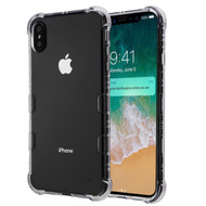 TUFF Klarity Electroplating Transparent Anti-Shock TPU Case for iPhone XS Max - Clear