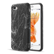 Splash Ink Tactile Surface Hybrid Armor Case for iPhone 8 Plus / 7 Plus - Black